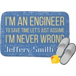 Engineer Quotes Memory Foam Bath Mat (Personalized)