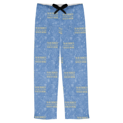 Engineer Quotes Mens Pajama Pants (Personalized)