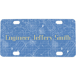 Engineer Quotes Mini / Bicycle License Plate (Personalized)