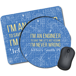 Engineer Quotes Mouse Pads (Personalized)