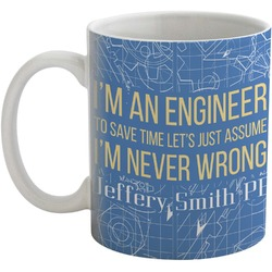 Engineer Quotes Coffee Mug (Personalized)