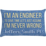 Engineer Quotes Pillow Case (Personalized)