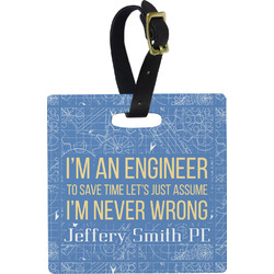 Engineer Quotes Luggage Tags (Personalized)