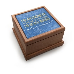 Engineer Quotes Pet Urn (Personalized)