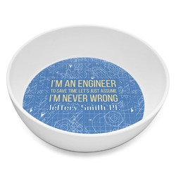 Engineer Quotes Melamine Bowl 8oz (Personalized)