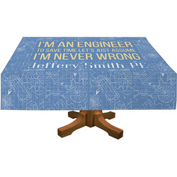 Engineer Quotes Tablecloth (Personalized)