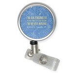 Engineer Quotes Retractable Badge Reel (Personalized)