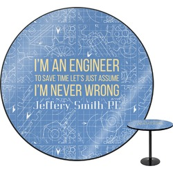 Engineer Quotes Round Table (Personalized)
