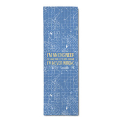 Engineer Quotes Runner Rug - 3.66'x8' (Personalized)