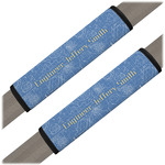 Engineer Quotes Seat Belt Covers (Set of 2) (Personalized)