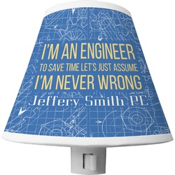 Engineer Quotes Shade Night Light (Personalized)