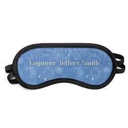 Engineer Quotes Sleeping Eye Mask - Small (Personalized)