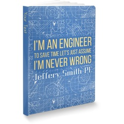 Engineer Quotes Softbound Notebook (Personalized)