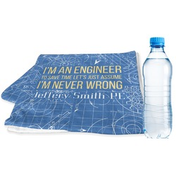 Engineer Quotes Sports & Fitness Towel (Personalized)