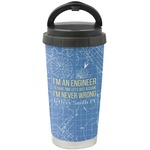 Engineer Quotes Stainless Steel Coffee Tumbler (Personalized)