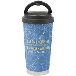 Engineer Quotes Stainless Steel Travel Mug (Personalized)