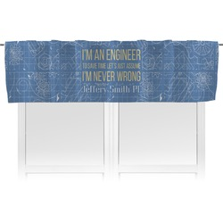 Engineer Quotes Valance (Personalized)