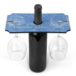 Engineer Quotes Wine Bottle & Glass Holder (Personalized)