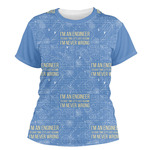 Engineer Quotes Women's Crew T-Shirt (Personalized)