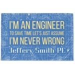 Engineer Quotes Woven Mat (Personalized)