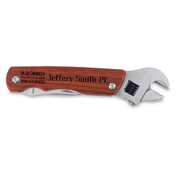 Engineer Quotes Wrench Multi-Tool (Personalized)