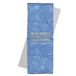 Engineer Quotes Yoga Mat Towel (Personalized)