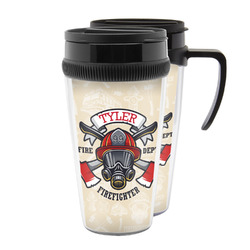 Firefighter Acrylic Travel Mugs (Personalized)