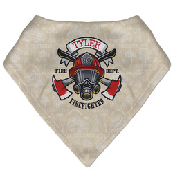 Firefighter Bandana Bib (Personalized)