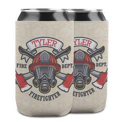 Firefighter Can Cooler (12 oz) w/ Name or Text