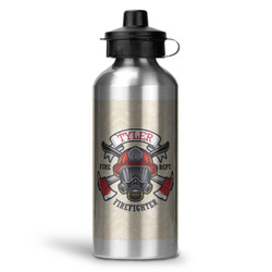 Firefighter Water Bottle - Aluminum - 20 oz (Personalized)