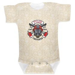 Firefighter Baby Bodysuit (Personalized)
