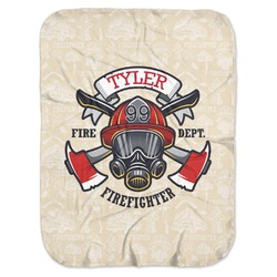 Firefighter Baby Swaddling Blanket (Personalized)