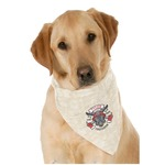 Firefighter Dog Bandana Scarf w/ Name or Text