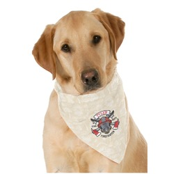 Firefighter Pet Bandanas (Personalized)