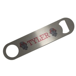 Firefighter Bar Bottle Opener (Personalized)