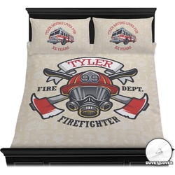 Firefighter Duvet Covers (Personalized)
