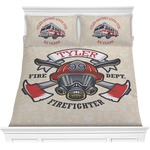 Firefighter Comforters (Personalized)