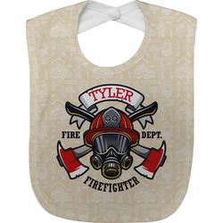 Firefighter Baby Bib (Personalized)