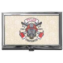 Firefighter Business Card Case