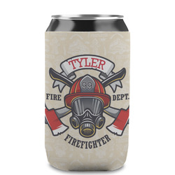 Firefighter Can Sleeve (12 oz) (Personalized)