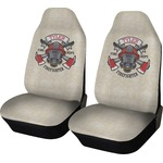 Firefighter Car Seat Covers (Set of Two) (Personalized)