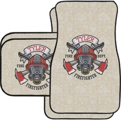 Firefighter Car Floor Mats (Personalized)