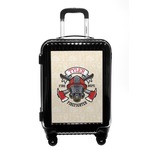Firefighter Carry On Hard Shell Suitcase (Personalized)