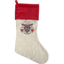 Firefighter Christmas Stocking (Personalized)