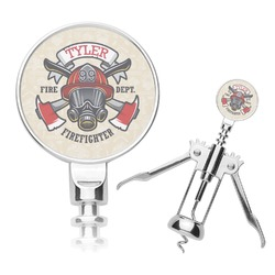 Firefighter Corkscrew (Personalized)
