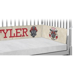 Firefighter Crib Bumper Pads (Personalized)