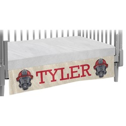 Firefighter Crib Skirt (Personalized)