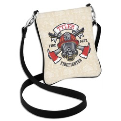 Firefighter Cross Body Bag - 2 Sizes (Personalized)