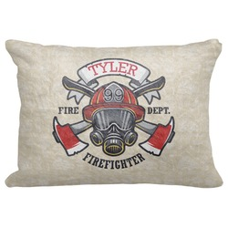 """Firefighter Decorative Baby Pillowcase - 16""""x12"""" (Personalized)"""