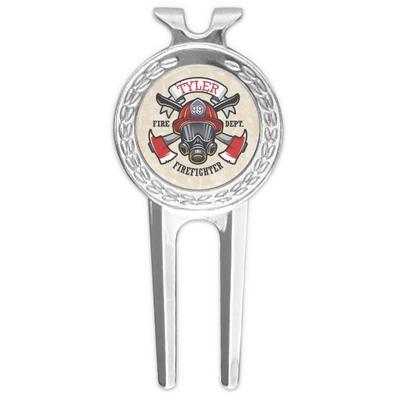 Firefighter Golf Divot Tool & Ball Marker (Personalized)